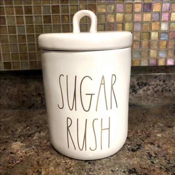 "RAE DUNN ""Sugar Rush"" Cookie Jar Canister"